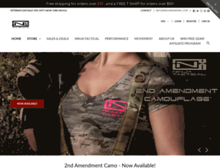 ninjabrandinc.com screenshot