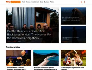ninjajournalist.com screenshot