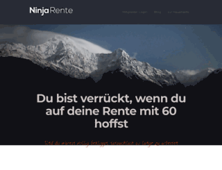 ninjarente.de screenshot