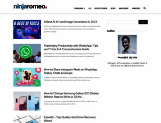 ninjaromeo.com screenshot