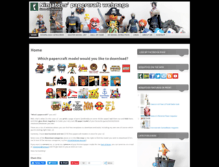 ninjatoes.wordpress.com screenshot