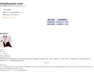 ninjatunexx.com screenshot