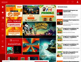 nintendo.nl screenshot