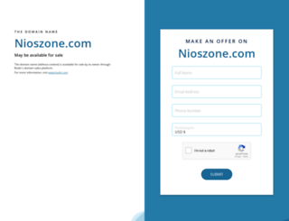 nioszone.com screenshot