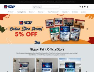 nipponpaint.com.sg screenshot