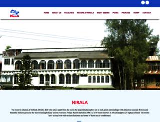 niralaresort.com screenshot