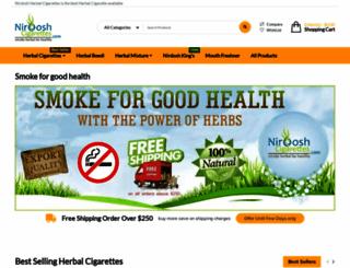 nirdoshcigarettes.com screenshot