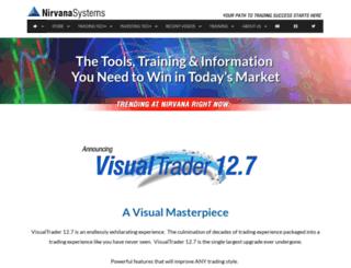 nirvanasystems.com screenshot