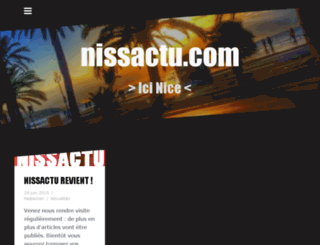 nissactu.com screenshot