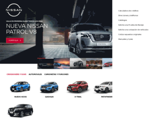 nissan.com.bo screenshot