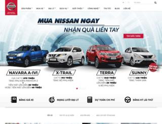 nissan.com.vn screenshot