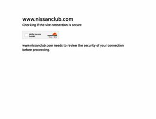 nissanclub.com screenshot