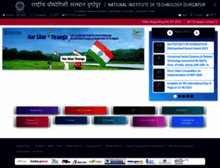 nitdgp.ac.in screenshot