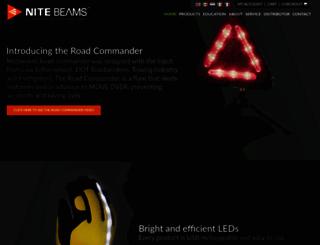 nitebeams.com screenshot
