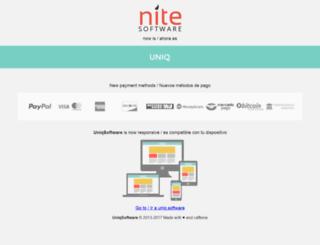 nitesoftware.net screenshot