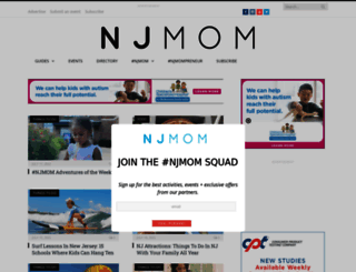 njmom.com screenshot