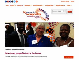 njnonprofits.org screenshot