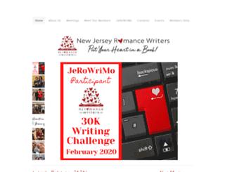 njromancewriters.org screenshot