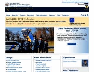 njsp.org screenshot