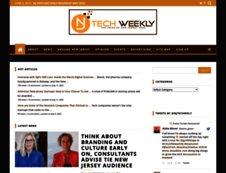 njtechweekly.com screenshot