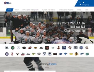 njyhl.org screenshot