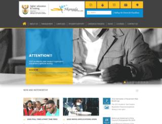 nkangalafet.edu.za screenshot