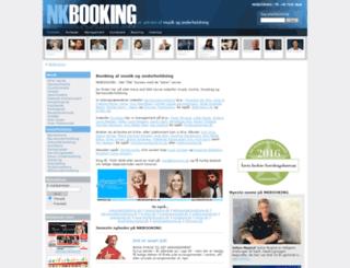 nkbooking.dk screenshot