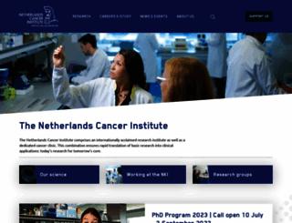 nki.nl screenshot