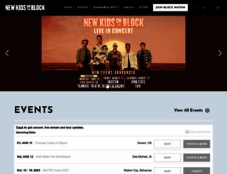 nkotb.com screenshot