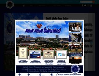 nku.edu.tr screenshot