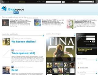 nl.blogspace.be screenshot