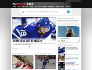 nlhockeytalk.ca screenshot