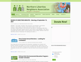 nlna.org screenshot