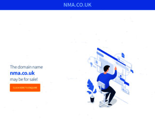 nma.co.uk screenshot