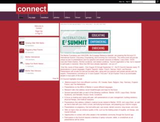 nmfconnect.marfan.org screenshot