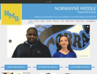 nms360.waynecountyschools.org screenshot