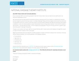 nmti.edu screenshot
