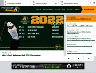 nmuwildcats.com screenshot