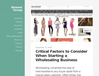 nnventgroup.com screenshot