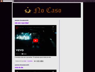 no-caso.blogspot.com screenshot