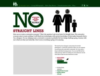 no-straight-lines.com screenshot