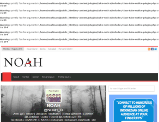 noahband.net screenshot