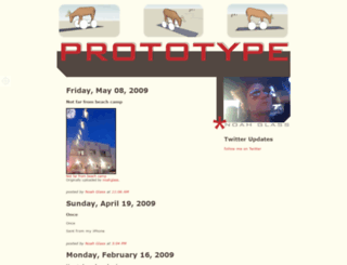 noahglass.com screenshot