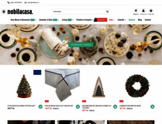 nobilacasa.com screenshot