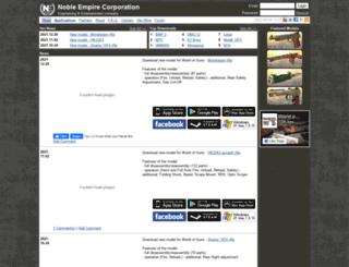 noble-empire.com screenshot
