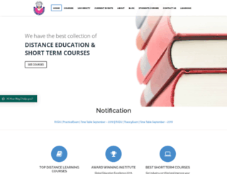 nobleeducation.org screenshot