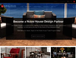 noblehousefurniture.com screenshot