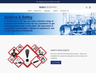 noblesci.com screenshot