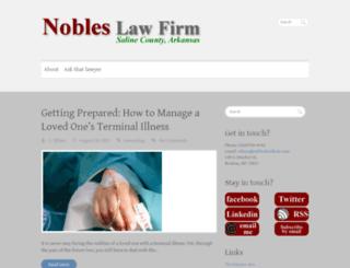 nobleslawfirm.com screenshot
