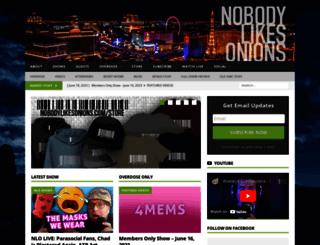 nobodylikesonions.com screenshot